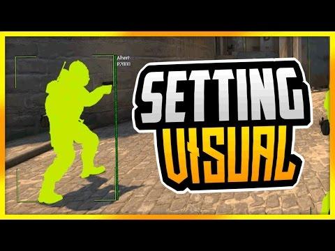CS:GO | Showing Visual Setting (Legit Hacking Tips/Tricks) // #MySettingKappa