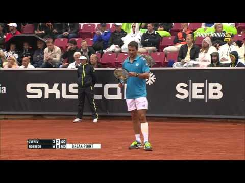 Alexander Zverev vs Tommy Robredo FULL MATCH HD SWEDISH OPEN 2015 PART 2