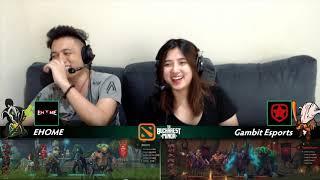 Gambit Esports vs EHOME Game 4 (BO5) | The Bucharest Minor Grand Finals