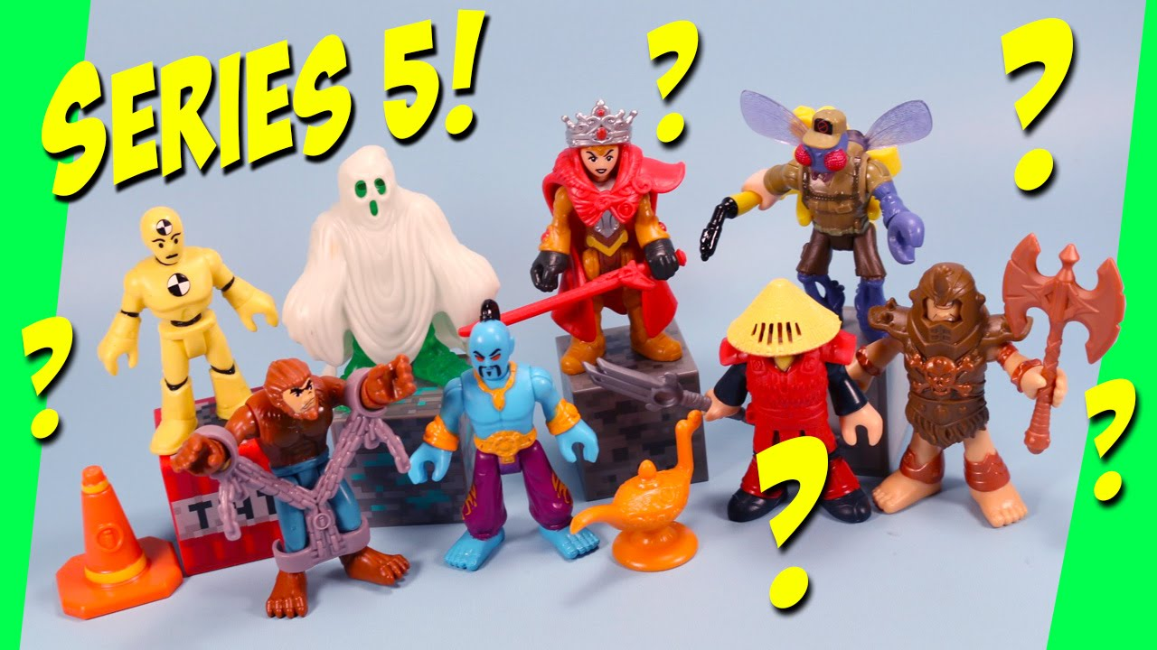 Imaginext Mystery Figures Series 5 Opening And Codes Youtube