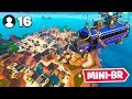 watch he video of *NEW* 16 Player MINI BATTLE ROYALE In Fortnite