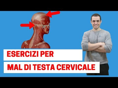Mal di testa ad origine cervicale: i 3 esercizi più efficaci