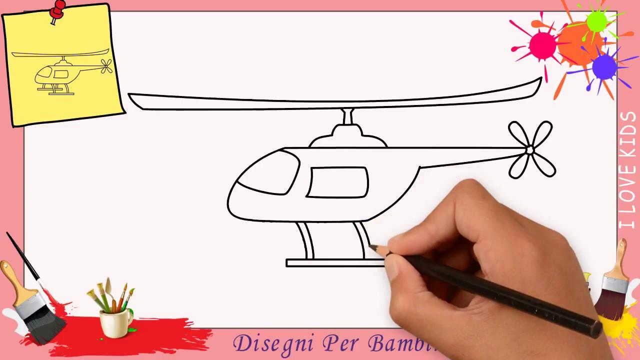 Come Disegnare Un Aereo Elicottero Facile Passo Per Passo Per