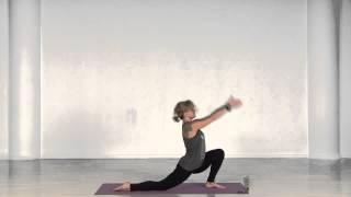 Силовое занятие для ног в традиции виньяса флоу йоги.(Перед вами урок, который относится к одной из систем Хатха йоги - VINYASA FLOW йога. Комплекс отлично укрепляет..., 2014-04-19T00:46:50.000Z)