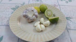 #الثوم# والليمون# على الريق#للتخسيس