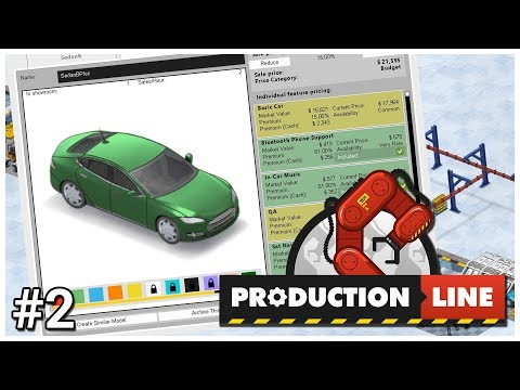 Production Line - #2 - Basic Plus - Let's Play / Gameplay / Construction