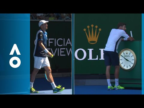 Carreno Busta with the millimetre perfect review | Australian Open 2018