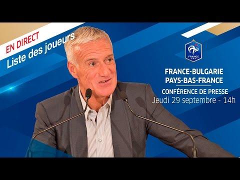 Replay de la conférence de Deschamps