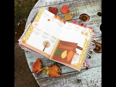 Fall Flip Through of my Junk Journal...