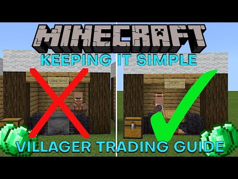 Villager Trading Guide, All The Good Trades Every Profession | Minecraft Keeping It Simple