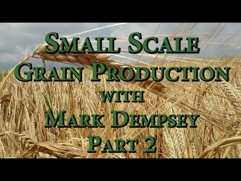 Small Scale Grain Production with Mark Dempsey Part 2