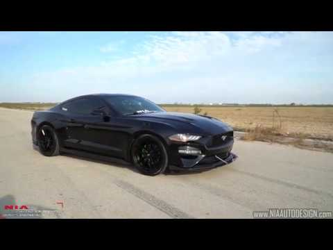 Ford Mustang S550 Side skirt lip body kit ground effects DIY Install