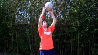 Soccer Tips - How to Juggle a Soccer Ball with your Head by Online Soccer Academy