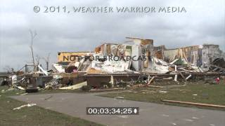 SIGNIFICANT tornado damage in Snow Hill, NC - April 16, 2011 (RAW video cut)