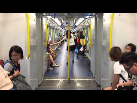 Mass Transit Railway HD: Assorted Vestibule Action on Multiple Open Gangway Trains