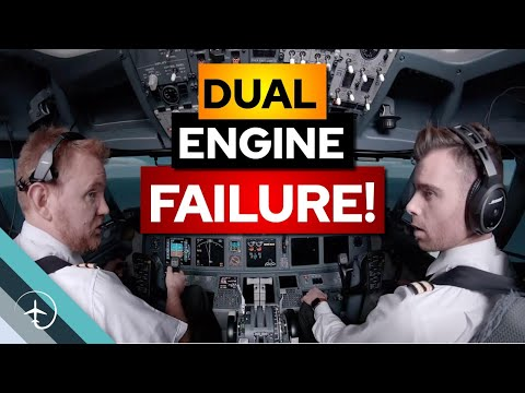 Can An Airplane Land If BOTH Engines Fail?