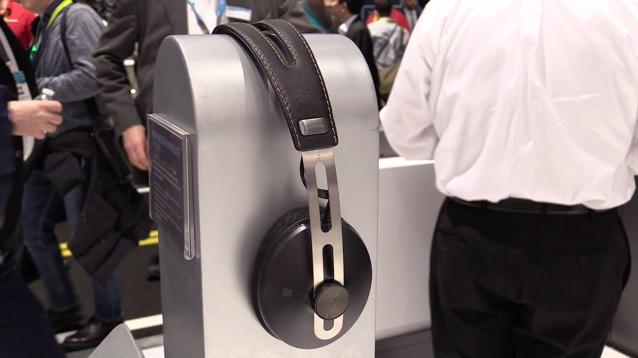 CES 2015 First Look  Sennheiser Momentum - Bluetooth wireless ... 742909c5797c
