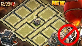 NEW TOWN HALL 9 WAR BASE 2017! TH9 ANTI 3 STAR WAR BASE WITH REPLAYS(MAX.TH10)! -CLASH OF CLANS(COC)