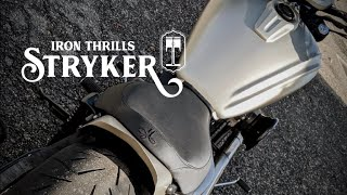 Iron Thrills Motorcycle Co. Custom 2014 Yamaha Stryker Build.