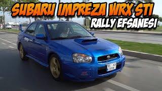 Subaru Impreza WRX STI Test Sürüşü / Rally Efsanesi