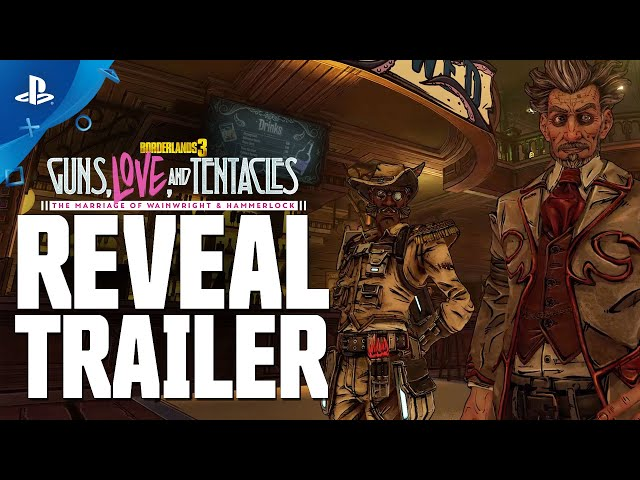Borderlands 3 - Guns, Love, and Tentacles Official Reveal Trailer | PS4