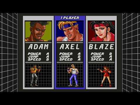 SEGA Mega Drive Classics - megadrive - streets of rage - sega - xbox one x - supermegalandia thumbnail