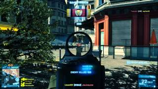 Battlefield 3: Where to Aim & Aim Assist (PC Gameplay/Commentary)