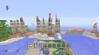Minecraft Xbox One/PS4 - TU31 Seed - 3 Huge Mesa Biomes, Ice Spike Biome, Sea Monument
