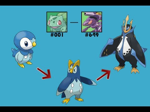 Pokémon: How to Evolve - All Evolution Lines (Generation 1-5)