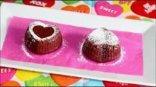 Red Velvet Heart Cupcakes Recipe | Natural Color | Egg Free | Valentine Dessert Recipe