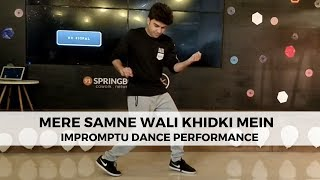 Mere Samne Wali Khidki Mein (Padosan)   Urvashi Song   Dance   Vishal Lohkna
