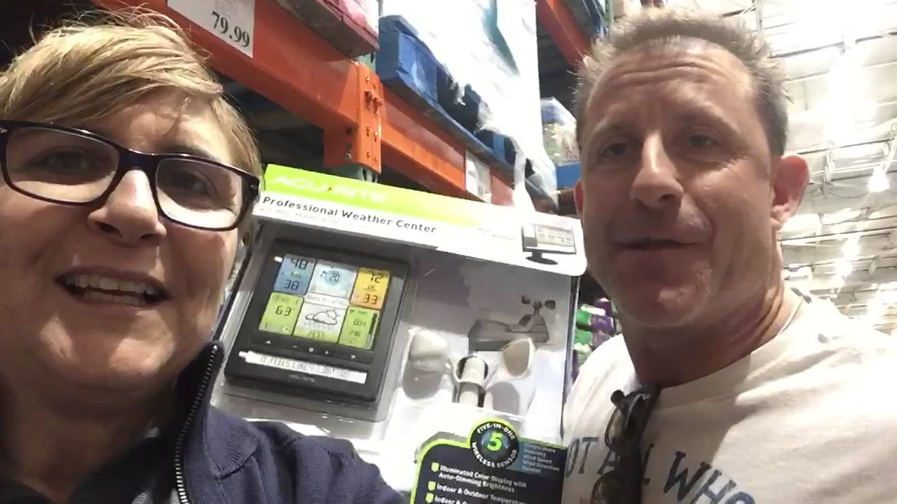 costco weather station youtube