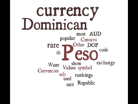 Dominican Currency - Peso