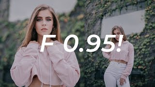 SHOOTING AT F0.95! | FUJI X-T3 MITAKON LENS thumbnail