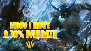 CLIMBING THE LADDER WITH A 70% WINRATE   Olaf Jungle Gameplay   League of Legends