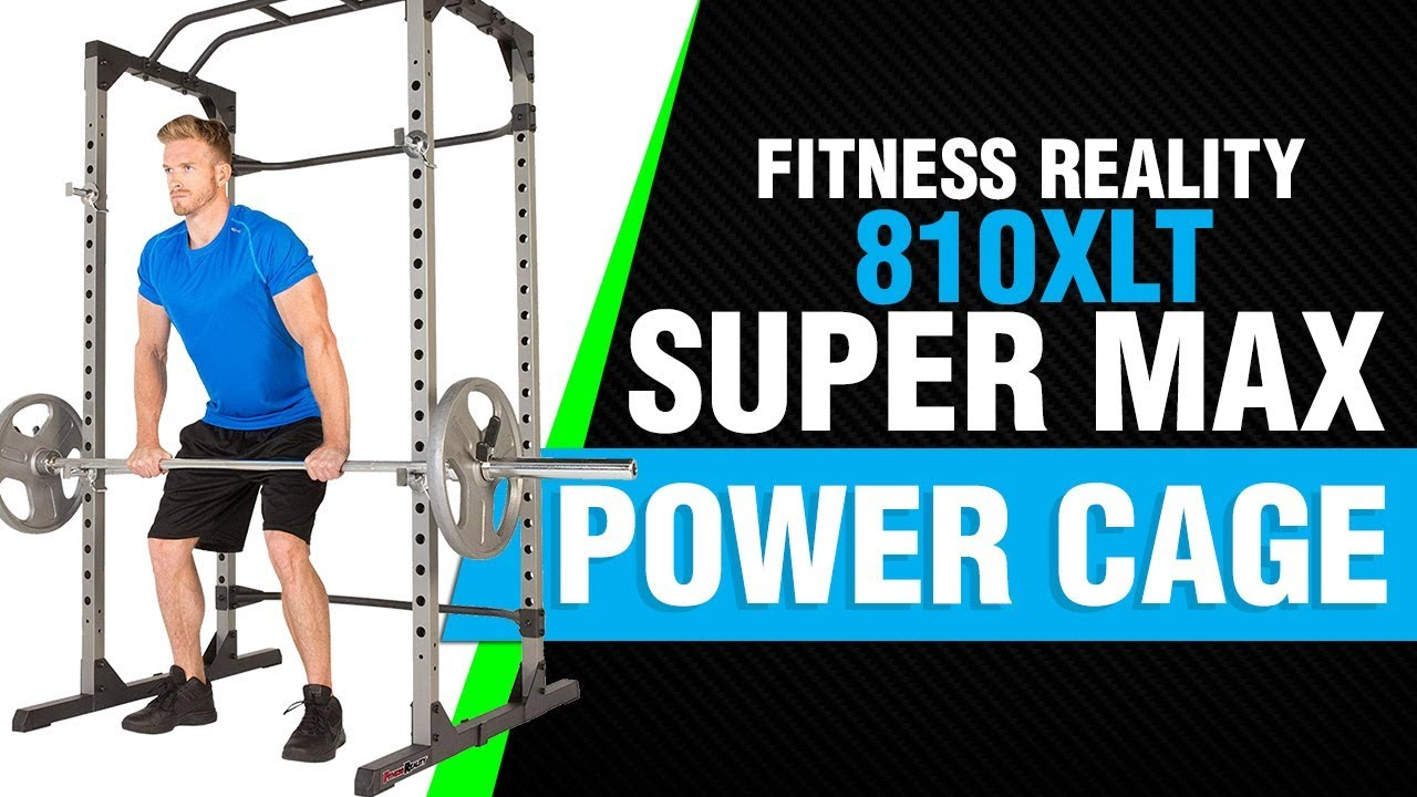 3777f354ac Fitness Reality 810XLT Super Max Power Cage Video Review 2018 - YouTube