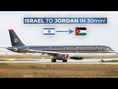 TRIPREPORT   Royal Jordanian Airlines (ECONOMY)   Tel Aviv - Amman   Airbus A321