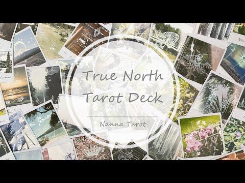 開箱  準北方塔羅牌 • True North Tarot Deck // Nanna Tarot