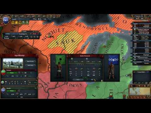 Europa Universalis 4 | The High Americans | Part 13 | Aid to the Ottawa...Again!