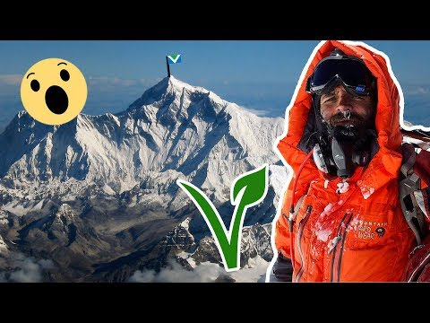 Scaling Mount Everest An EPIC Vegan Climbing Adventure /w Kuntal Joisher.