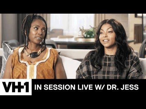 Taraji P. Henson Discusses Mental Health In the Black Community  In Session Live with Dr. Jess
