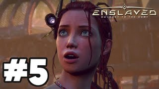Enslaved Odyssey to the West - Gameplay Walkthrough Part 5 - Chapter 5: The Crash Site [HD] Xbox 360 PS3