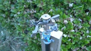 Rainbird Brass Impact Sprinkler Installation | Farming Seattle