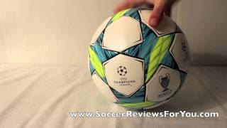Adidas 2012 Champions League Finale Munich Match Ball - UNBOXING