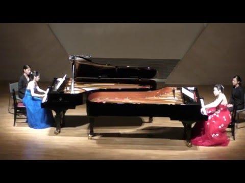 ブラームス:5つのワルツ(2台ピアノ) / Brahms Waltzes for 2 pianos, op.39