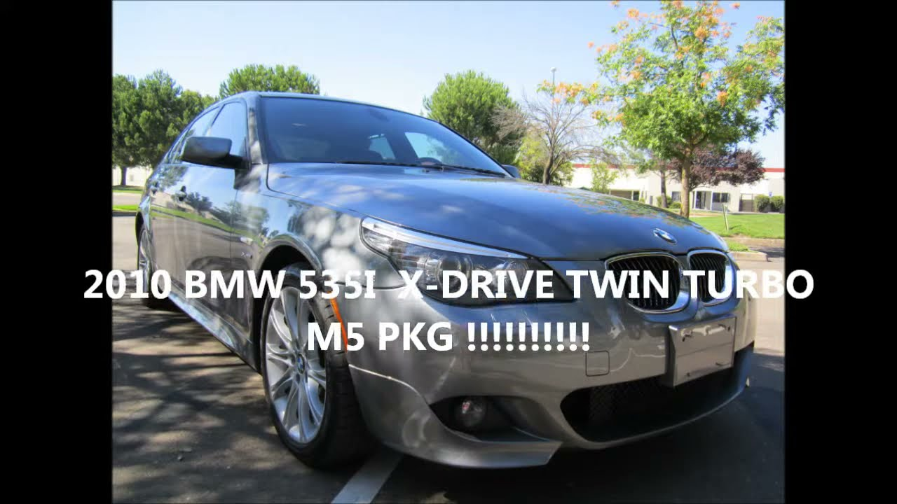 2010 bmw 535i x drive twin turbo m5 pkg by north star auto sale youtube. Black Bedroom Furniture Sets. Home Design Ideas