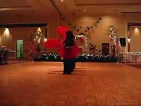 Vietnamese Fan Dance