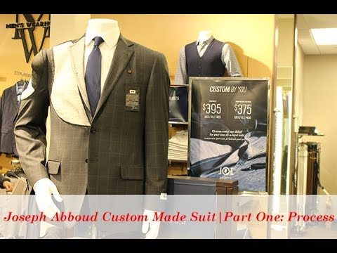 Joseph Abboud Custom Made Suit | Part One: Process