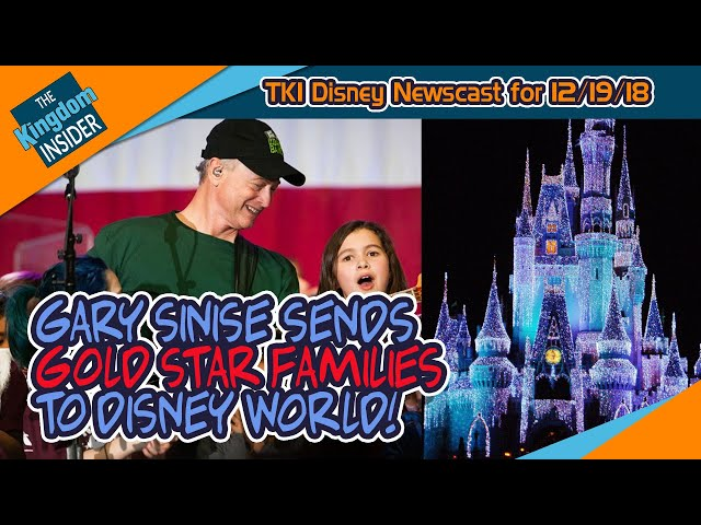Gary Sinise Sends Military Families to Disney World! Skyliner Update!