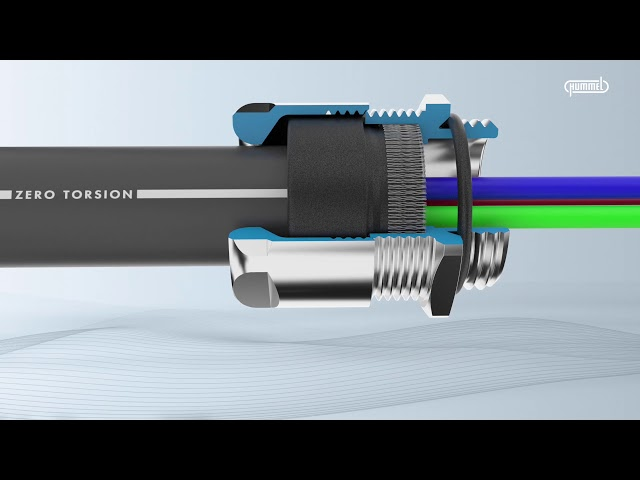 HUMMEL AG // Cable Glands // VariaPro Rail Product Video